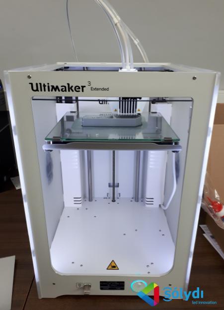 NUEVA IMPRESORA 3D EN SOLYDI LED INNOVATION
