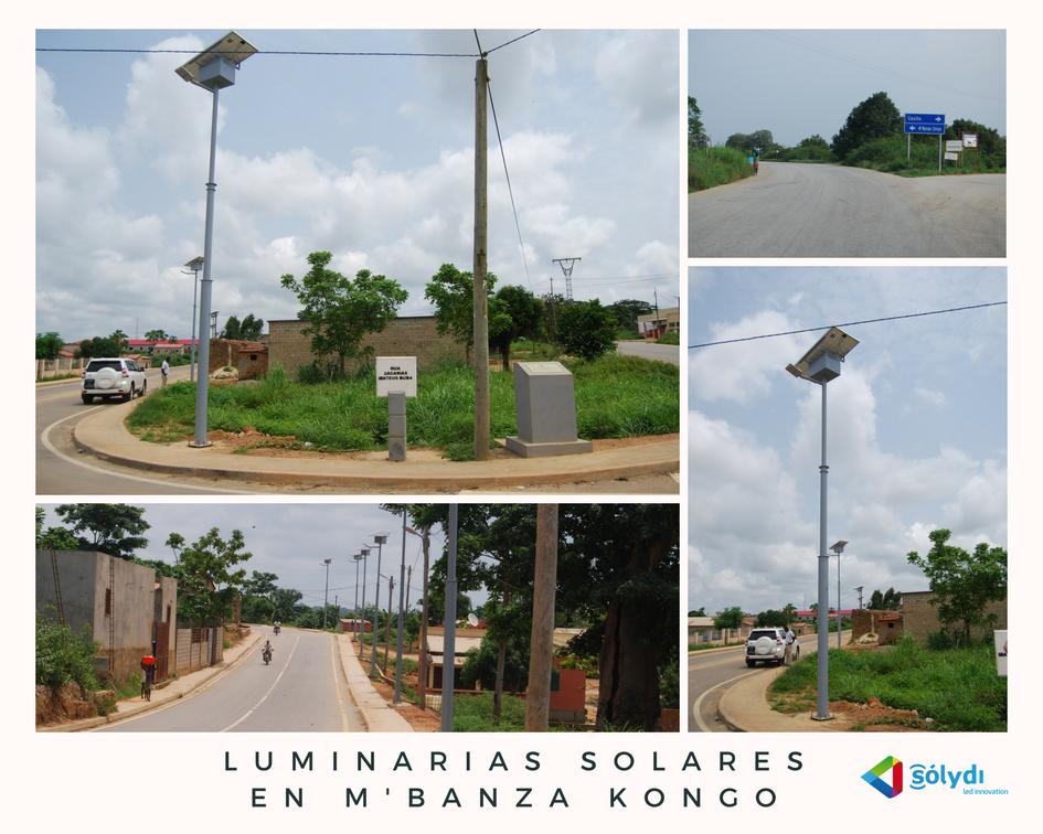 Luminarias Solares En MBanza Kongo