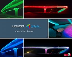 Iluminación Puente Tánger