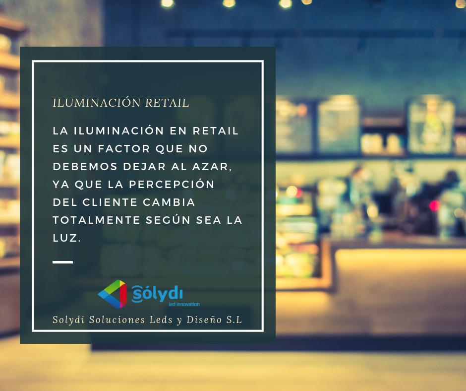 Iluminación Retail