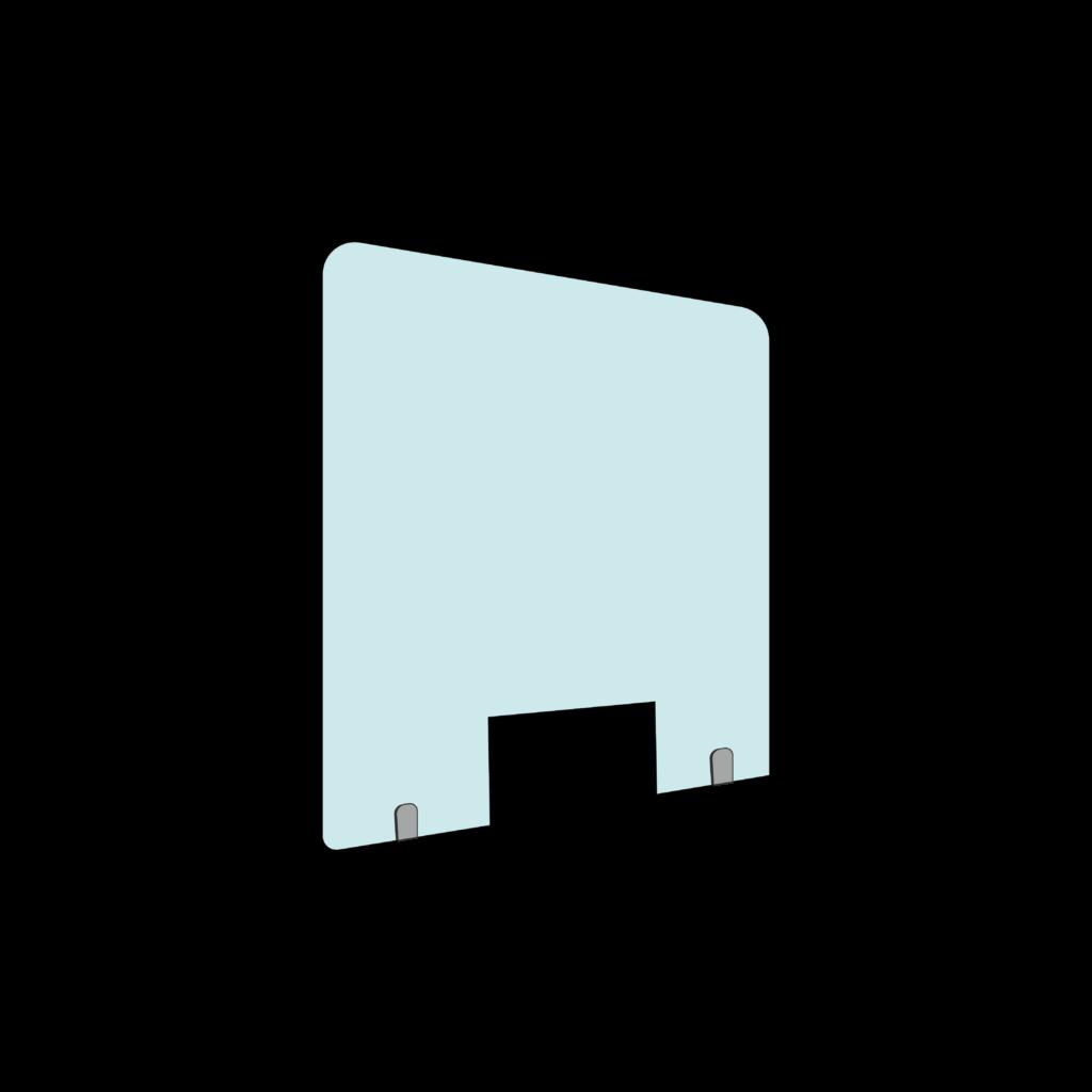 Mampara protección fija