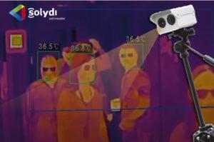 Cámara termográfica detección múltiple