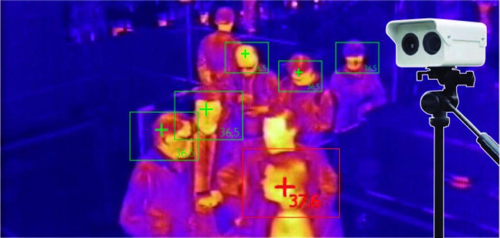 Camara termografica detección Covid-19