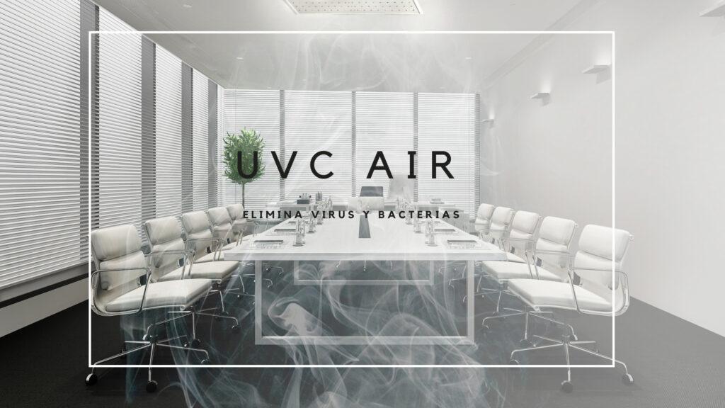 UVC Air elimina virus y bacterias